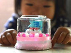 photo by Yuka Arioka Snow Globes, Crafts, Home Decor, Manualidades, Decoration Home, Room Decor, Handmade Crafts, Craft, Home Interior Design