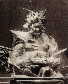 Umberto Boccioni, 'Head + House + Light', 1912 (destroyed).