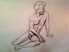 Life drawing class, I forget the pose durations