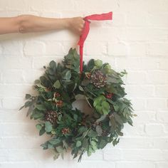 We still have a few places on our wreath making workshop on December, full details on our website- do join us! 10 December, How To Make Wreaths, Christmas Traditions, House Plants, Greenery, Beautiful Homes, Appreciation, Christmas Wreaths, Workshop
