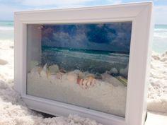 ocean view shadow box