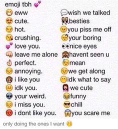 Emoji tbh. Reshare!                                                                                                                                                                                 More