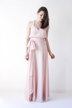 STILL IN LOVE WITH YOU - iam still in love...hey, what have you done? Made me feeling like navy pink dove, like first time I felt in love. DAMN! #long #summer #maxi #dress  #woman #womens #flowy #silky #pink #blush #pale #bow #formal #evening #prom #romantic #simple #simplicity #cocktaildress #sexy #boho #bohemian #festival #bohochic #elegant #beautiful #stylish #style #trend #trendy #fashion #fashionista #fashionable