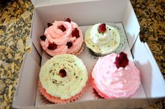 Cupcake Bath Bomb Gift Box Set by BeautifulXpressions on Etsy, $20.00