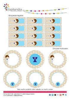 Imprimible Primera Comunion Niño 2