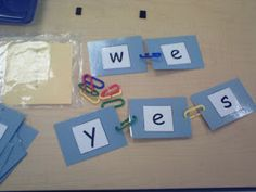 Mrs. Bohaty's Kindergarten Kingdom: Some of my favorites... word work edition