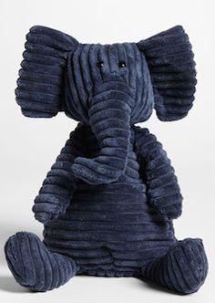navy blue stuffed elephant http://rstyle.me/n/w2wqibna57