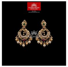 Gold Jhumka Earrings, Gold Bridal Earrings, Indian Jewelry Earrings, Buy Earrings, Jewelry Design Earrings, Gold Earrings Designs, Earrings Online, Geek Jewelry, Gold Necklace