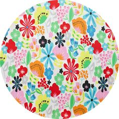 "Alexander Henry, Pretty Poppy Natural Bright  Fabric is sold by the 1/2 Yard. For example, if you would like to purchase 1 Yard, enter 2 in the Qty. box at Checkout. Yardage is cut in one continuous piece when possible.  Examples:  1/2 yard = 1 1 yard = 2 1 1/2 yards = 3 2 yards = 4   1/2 Yard Measures 18"" x 44/45""  Fiber Content: 100% Cotton  Hover over image for a larger, better view."