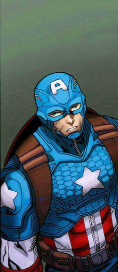 Captain America by Carlo Barberi
