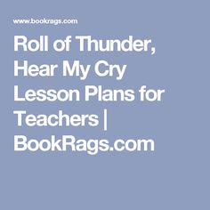 essay questions for roll of thunder Roll of thunder hear my cry essay etc, searching for essay cry of roll thunder hear my patterns and providing information mitchell, k ibid.