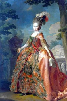 Maria Feodorovna of Russia,wife of the Emperor Paul painted before his accession to the Throne