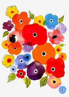 Margaret Berg Art: Flower+Power