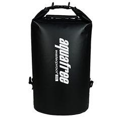 Aquafree Dry Bag, 100% Waterproof Dry Backpack 20L - Black aquafree http://smile.amazon.com/dp/B00XH5IAMK/ref=cm_sw_r_pi_dp_bxHzwb0AWGQV6