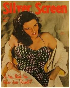 Jane Russell - Silver Screen 1949 August