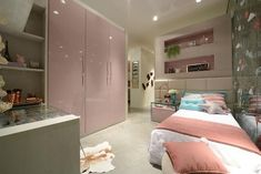enata Menezes no Instagra Teen Bedroom Designs, Girls Bedroom, Baby Room Decor, Bedroom Decor, Beach Room, Pretty Bedroom, Pink Room, House Numbers, Interior Exterior
