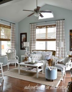 Adventures in Decorating: Our 2015 Fall Sunroom