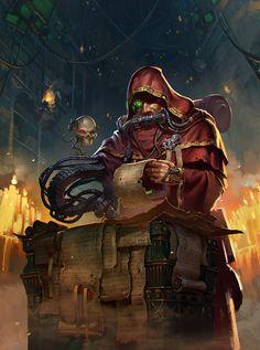 Warhammer 40000,warhammer40000, warhammer40k, warhammer 40k, ваха, сорокотысячник,фэндомы,Adeptus Mechanicus,Mechanicum,Imperium,Империум,servo skull,techpriest