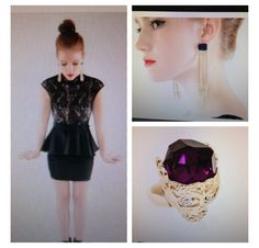 Stay  classy with this adorable dress and must have accessories. Get them at www.shopsassygirls.com Instagram: shopsassygirls