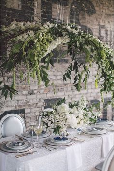 We love hanging foliage - Top 30 Wedding Hanging Decorations