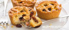 Brownie Recipes, Cake Recipes, Apple Pie Bites, Food Vans, Snacks Für Party, Mini Foods, Jaba, No Bake Desserts, Vegan