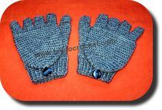 Guantes mas manoplas tejidos a crochet, buenas  explicaciones mostrando como realizar el patron :)