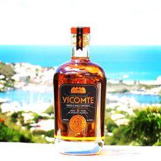 Vicomte single malt whiskey France