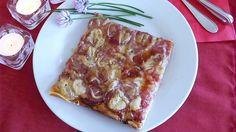 Hessenpizza - Käserei H. Birkenstock, Lasagna, Waffles, French Toast, Pizza, Breakfast, Ethnic Recipes, Lady, Just Go