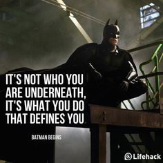 Movie Quote of the Day – Batman Begins