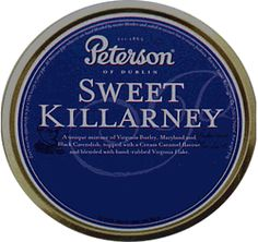 Peterson Sweet Killarney Pipe Tobacco Tin