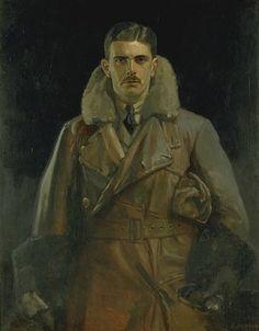 2nd Lieut. Gilbert S.M. Install 1919 - by Edward Newling