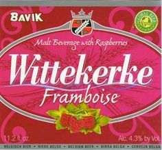 New Love: Wittekerke Raspberry Framboise
