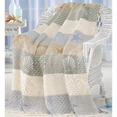 Seashells by the Seashore Throw - Best Selling Gifts, Clothing, Accessories, Jewelry and Home Décor