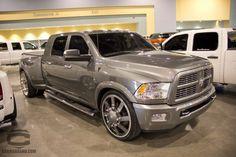 "Riding in this ""Earl Gray"" Custom Dodge Ram"
