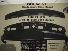 Dodge Ram Replacement Dash Board Fits 2002 1500 03 05