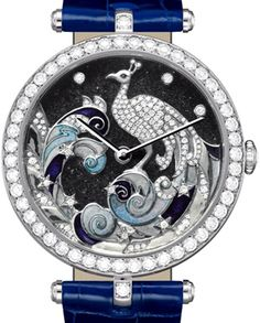 Van Cleef & Arpels Lady Arpels Pavo Decor watch