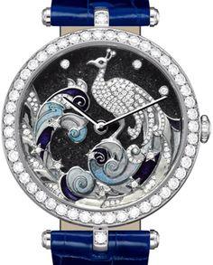 Van Cleef & Arpels Lady Arpels Pavo Decor watch