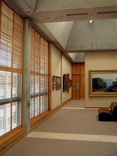Yale Center for British Art - interior exhibition spaces 6 - Louis Kahn | Flickr: Intercambio de fotos