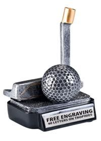 Present this #Golf #Putter #Trophy to the Best. These Golf Sculptures are Perfect for Tournaments, Coaches and Father's! http://www.crownawards.com/StoreFront/CRGGFPT.ALL.Trophies.Golf_Putter_Trophy.prod