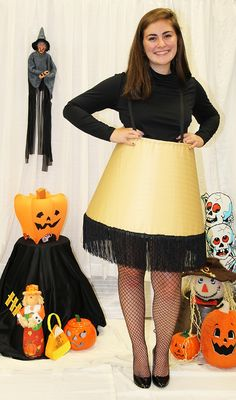 Leg Lamp Costume - this is hilarious! Find a store near you at www.goodwillng.org #Goodwill #costume #Halloween