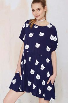 Lazy Kitty Dress