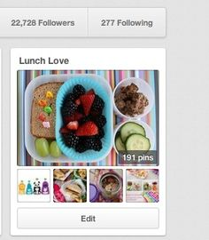 The Story Behind the Lunch Love Pinterest Board (giveaway). Fun week ahead with giveaways, a G+ hangout with a health coach to talk about lunches and more!