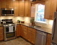 L shaped kitchen islands and kitchens on pinterest - Cocinas en ele ...