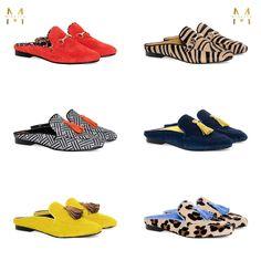Para ponerte a llorar de bonitas que son todas las nuevas #mules de Mislita para esta primavera - verano  ¿Qué os parecen? #zapatos