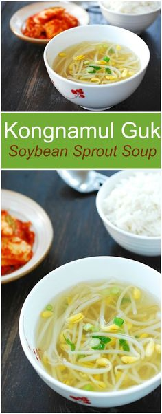 A Korean staple soup