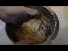 Překládání chlebového těsta - YouTube