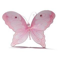 "10"" Nylon Pink Butterfly"