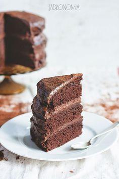 Rozpustne ciasto czekoladowe » Jadłonomia · wegańskie przepisy nie tylko dla wegan