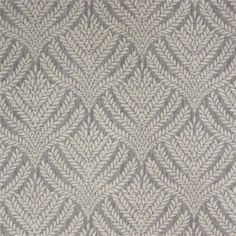 This is a blue/gray and natural wheat leaf design cotton drapery fabric, suitable for any decor in the home or office. Perfect for pillows,drapes and bedding.v145, FEF