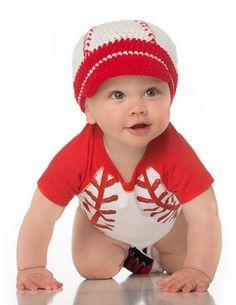 79f0a60b188 Baseball Hat (1-4 Years). Crochet HatsKnitted Hats3 ...